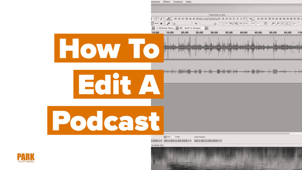 How to edit a podcast title image